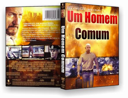 CAPA DVD – Um Homem Comum – ISO