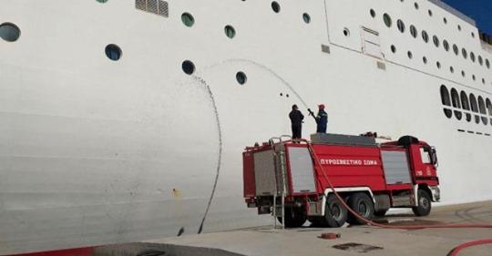 Ήγουμενίτσα: Έρευνες, καταθέσεις και αυτοψίες για το πως εκδηλώθηκε η φωτιά σε πλοίο στην Ηγουμενίτσα