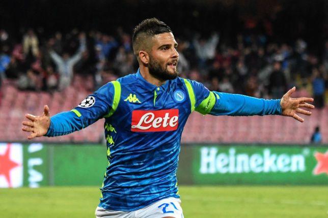 Napoli forward Lorenzo Insigne