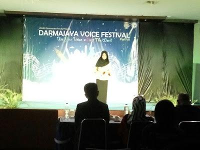 Darma Suara IIB Darmajaya Gelar Lomba Darmajaya Voice Festival VII
