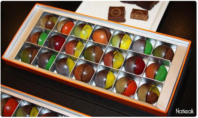 Perles de st-Malo du chocolatier Pascal Pochon
