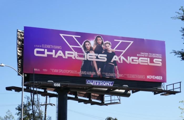 Charlies Angels film billboard