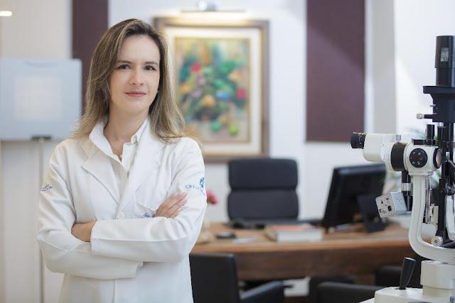 Oftalmologista Ana Luísa Aleixo