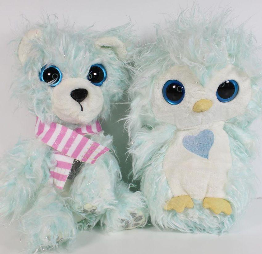 Няшки-потеряшки Пингвин и Белый медведь