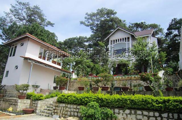 Villa Viettrip Đà Lạt GAHU hiện đại có vườn