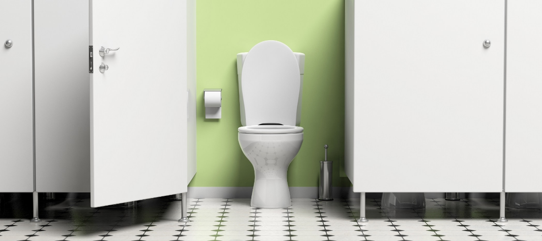 Draining of clogged bathroom