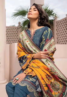 Iris Vol 3 Cotton Print  Pakistani  Dress Material Collection