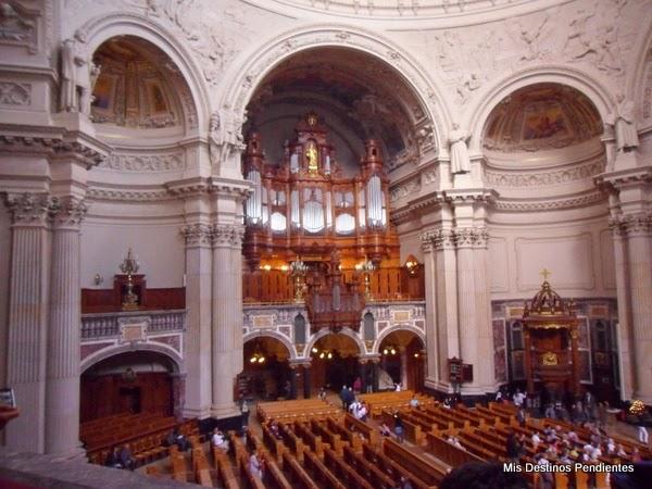 Órgano y Púlpito de la Catedral de Berlín (Berlín, Alemania)