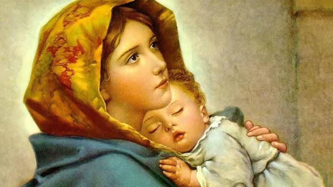 Traz sempre o nome de Maria na tua boca!
