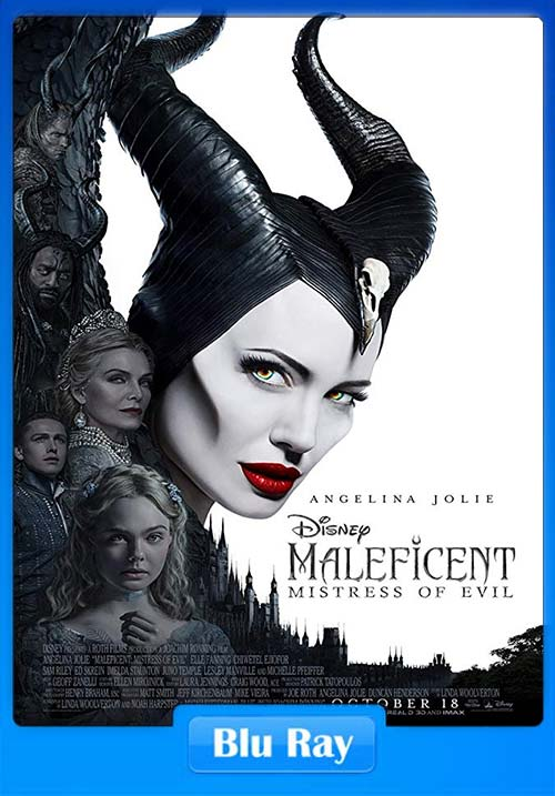 Maleficent Mistress of Evil 2019 720p BluRay Hindi Dual Audio English ESubs x264 | 480p 300MB | 100MB HEVC Poster
