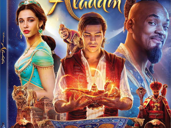 Disney's Aladdin (live-action) and Aladdin Signature Collection on Digital 8/27 and Blu-ray 9/10