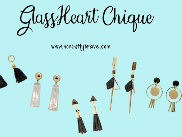 The GlassHeart Chique Earring Collection - Honestly Brave