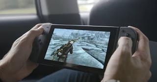 Imagen de Skyrim corriendo en Nintendo Switch