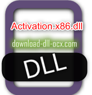 Activation.x86.dll download for windows 7, 10, 8.1, xp, vista, 32bit