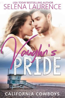 romance novel covers, contemporary romance, Vaughn's Pride by Selena Laurence