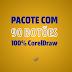 90 botões em CorelDraw - Download Grátis