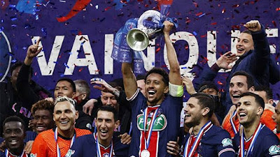 PSG Juarai Piala Prancis, Setelah Tekuk AS Monaco 2-0