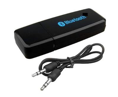 Taravision Bluetooth Stereo Adapter Audio Receiver