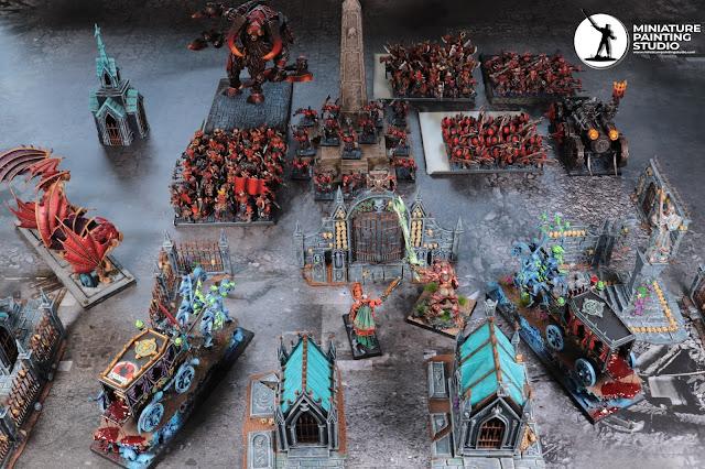 Chaos Dwarf vs vampire counts battel report