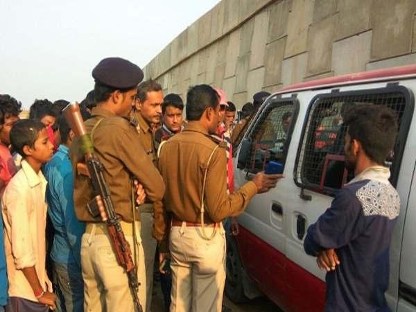 लखनऊ में 'राजभवन के सामने हुई बैंक वैन की लूट व हत्या मामलों के तार