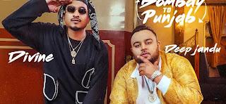DIVINE Bombay To Punjab lyrics hindi and punjabi