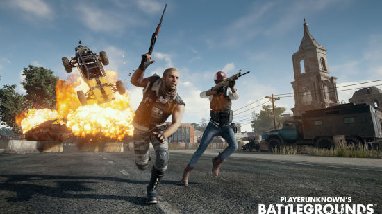 PUBG 2 Personnages + Explosion - Ultra HD 4K 2160p