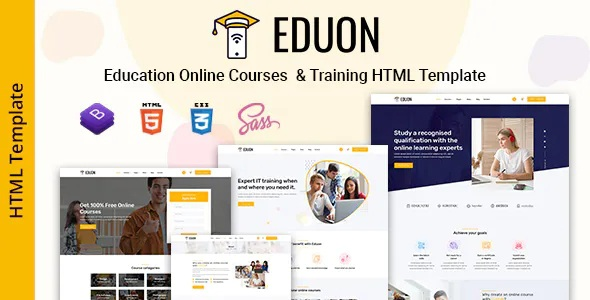 Best Online Courses & Training Template