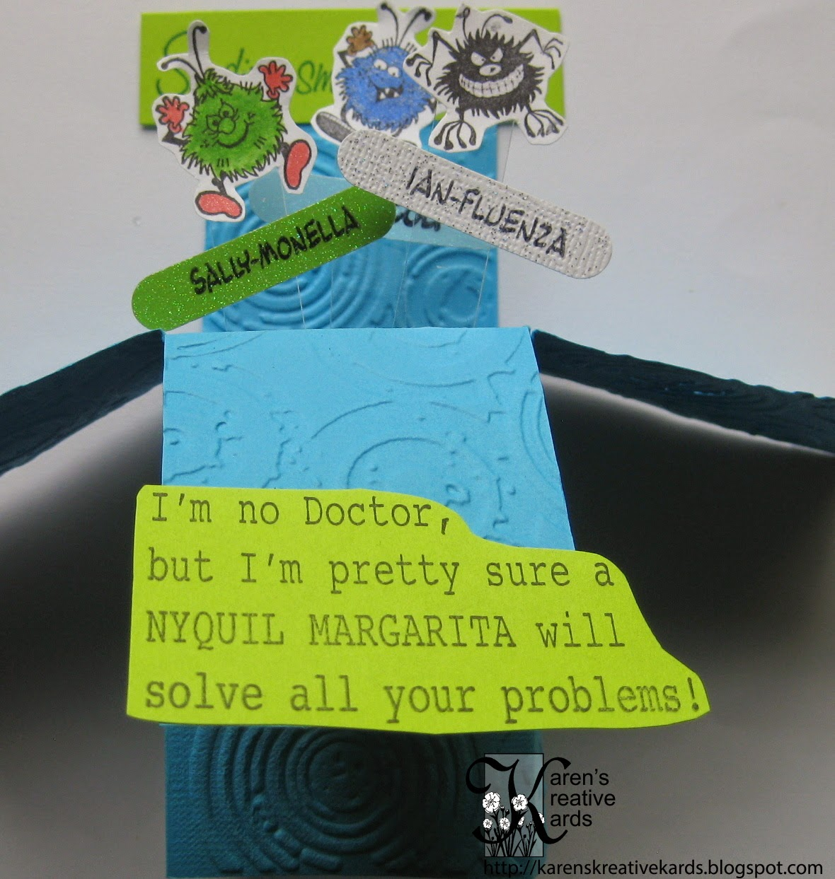 karen s kreative kards funny card in a box on crackerbox palace friday