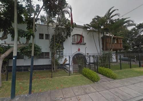 Embajada de Turquía en el Perú