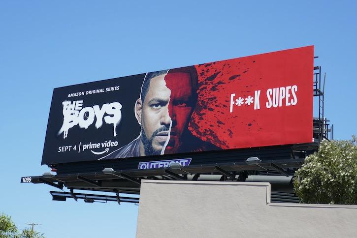Mothers Milk Boys season 2 F**k Supes billboard
