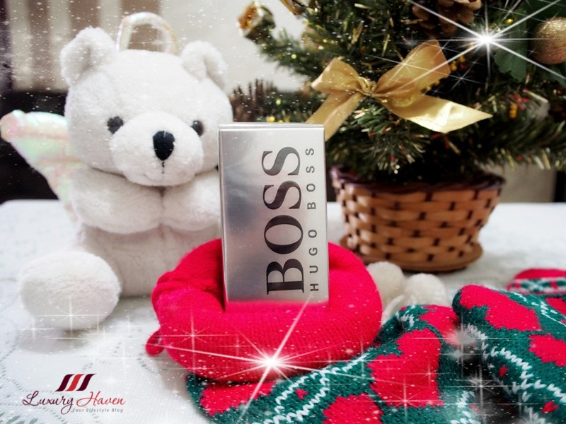 boss bottled eau de toilette cologne xmas giveaway