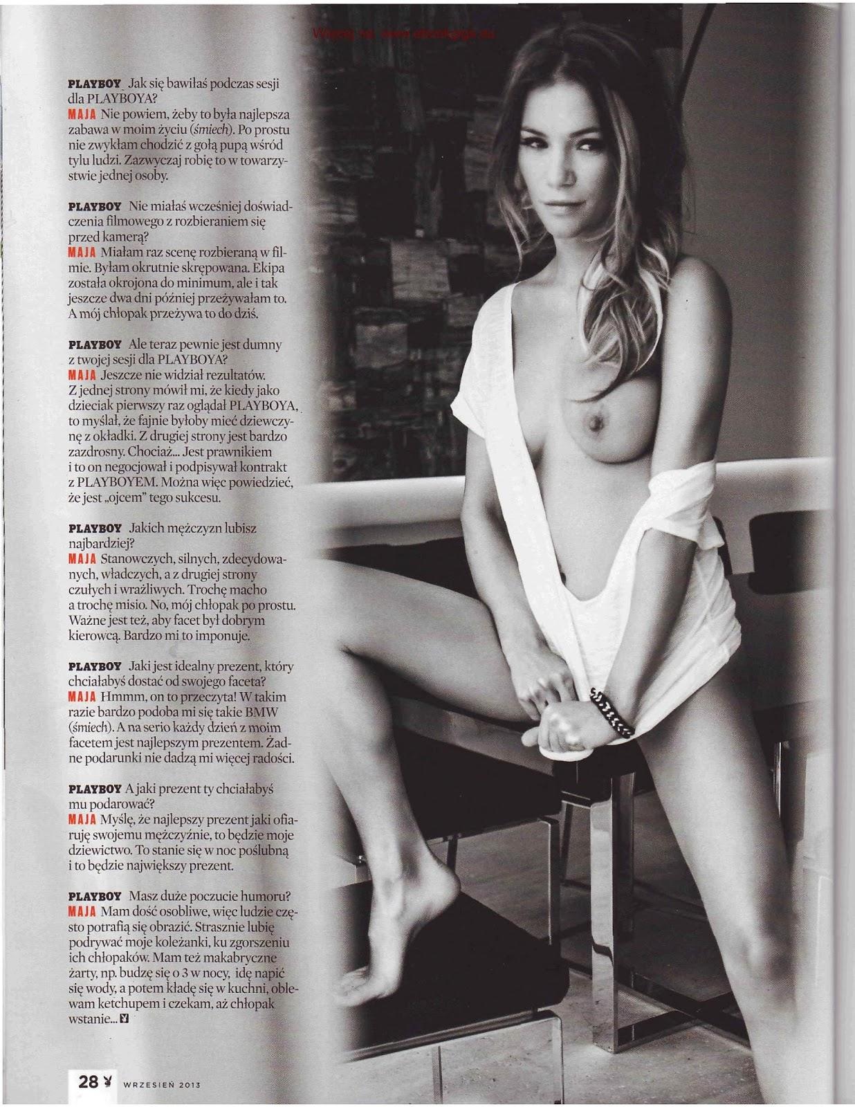 Maja Bohosiewicz Naked