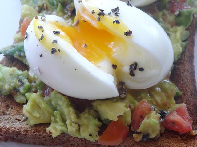 Smashed Avocado & Boiled Eggs Brunch Recipe