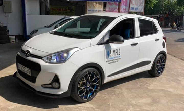 Bất ngờ Hyundai Grand i10 nâng cấp mâm 17 inch tại Việt Nam