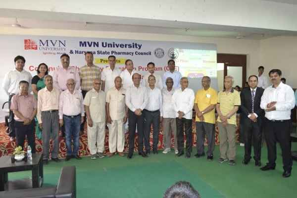 continuing-pharmacy-education-programme-in-mvn-university-faridabad