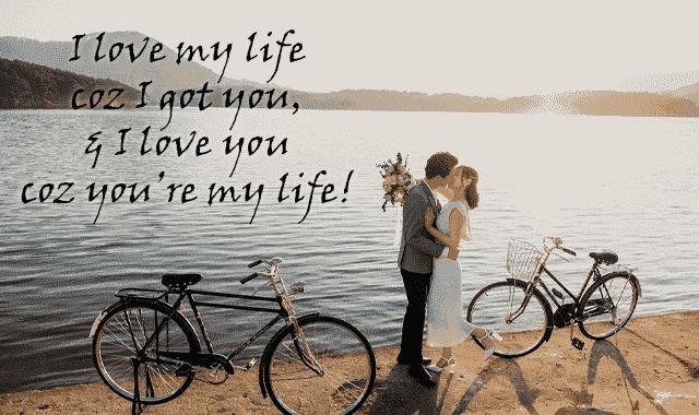 Husband wife romance kiss images