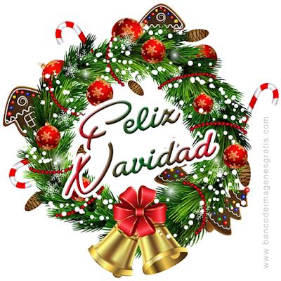 guirnalda con mensaje de ufeliz navidadu en espaol ingls portugus italiano y francs with adornos de navidad en ingles