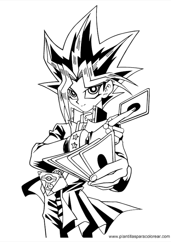 coloring pages of yu gi oh  best coloring pages collections