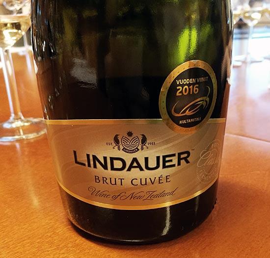 Miksi Lindauer Cuvée Brut voittaa kaikki kilpailut?