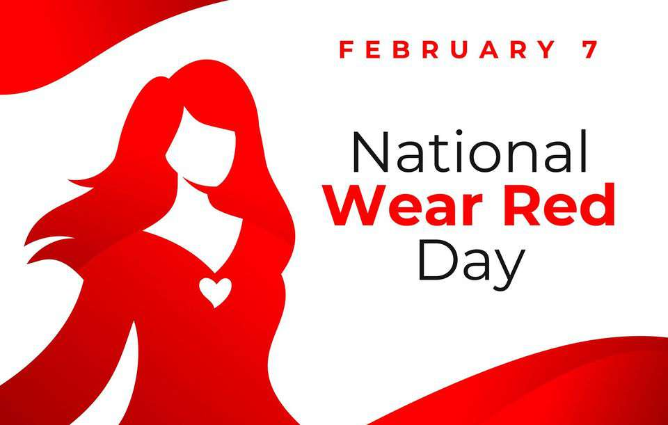 National Wear Red Day Wishes Pics