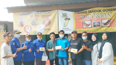 Plt. Ketua KATAR Kecamatan Kosambi Launcing UMKM Binaan