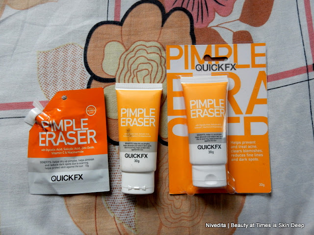 Pimple Eraser Cream Quick FX