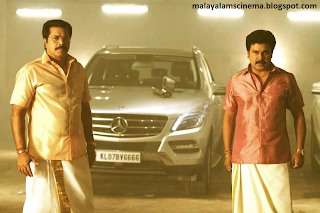 Mammookk and Dileep in kammath and kammath