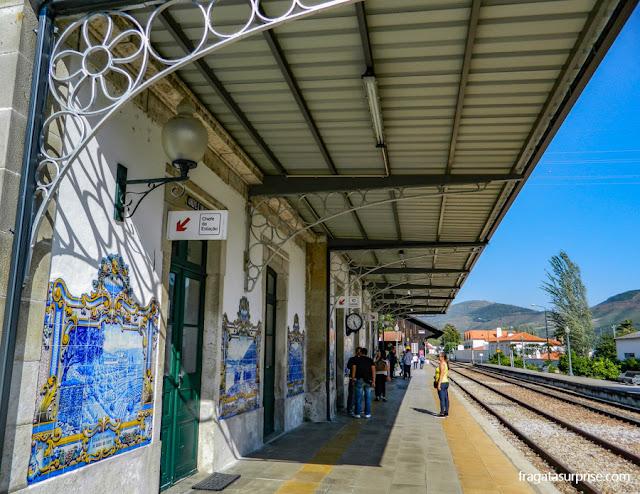 Estação Ferroviária de Pinhão, Alto Douro, Portugal