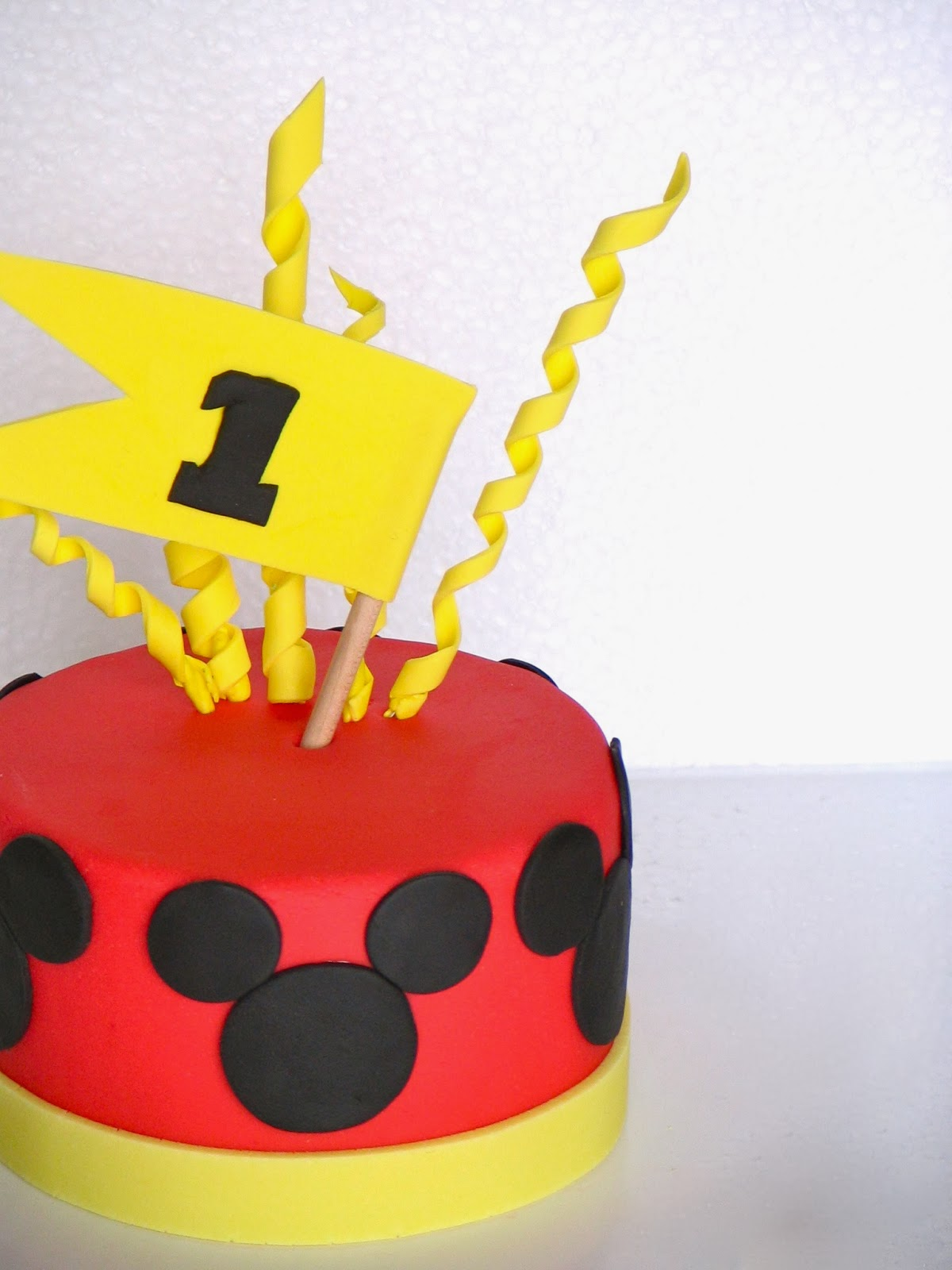 My Cakes, Creations, and More: Baby Smash Cake - Mickey ...