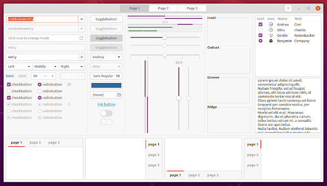 Ubuntu 20.04 Yaru theme