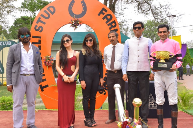 Rohit Gupta, Radhika Madan, Satya singh, with Guests