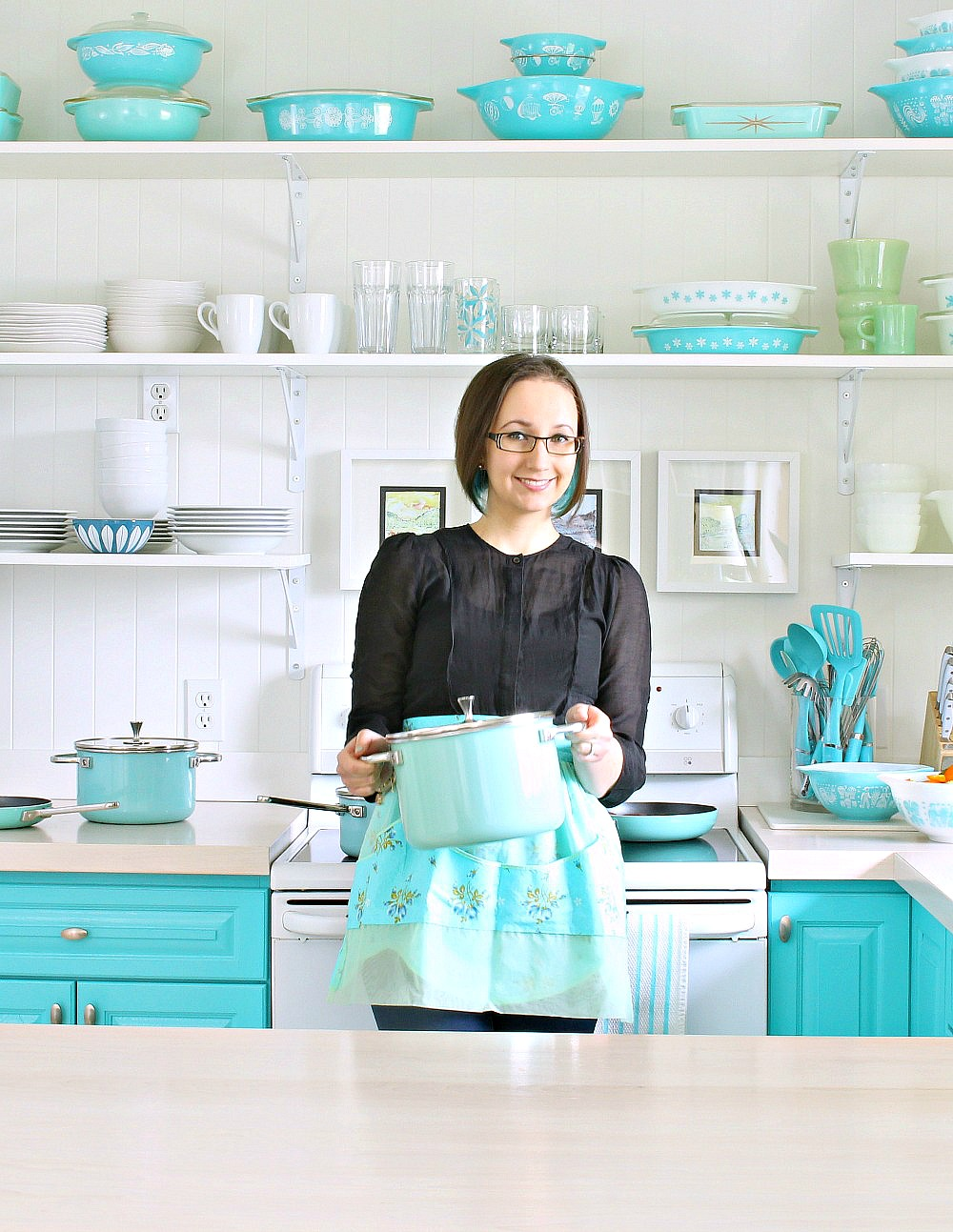 Loving My Small Kitchen: Tips, Tricks and Storage Ideas