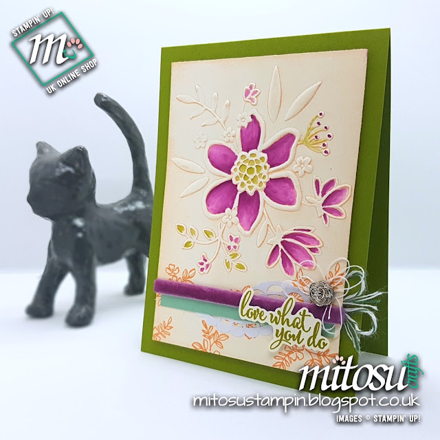 Stampin' Up! Share What You Love SU Card Idea order from Mitosu Crafts UK Online Shop