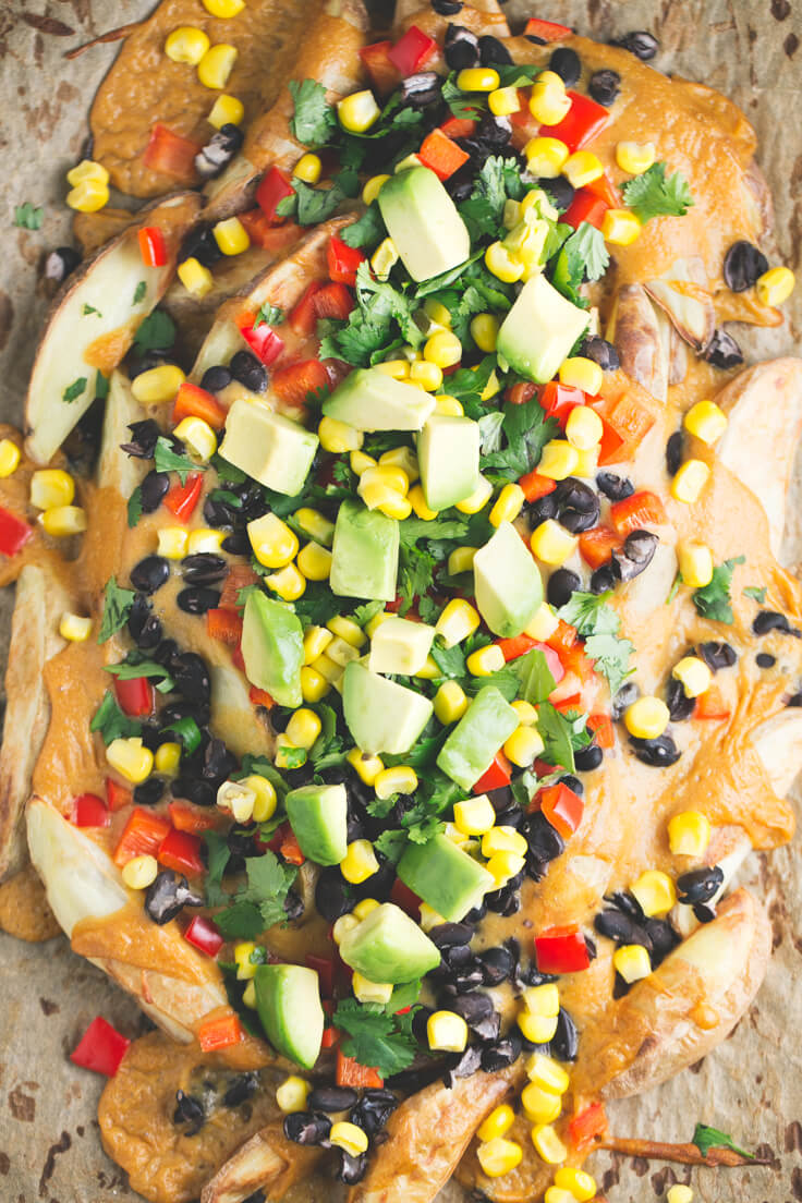 Potato nachos: Potato nachos are a healthy, cheap and delicious alternative to traditional nachos that are often packed with additives and refined ingredients.